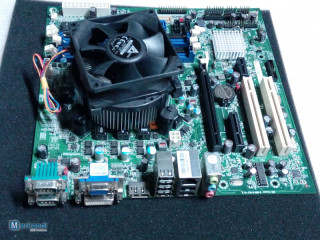 MAINBOARDS LGA1155 SUPPORT i3, i5, i7-2Gen ,CPU with shield and cooler
